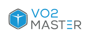 This image is the Vo2Master logo. Vo2 is a Gold Sponsor of Sportrail Football Science Conference